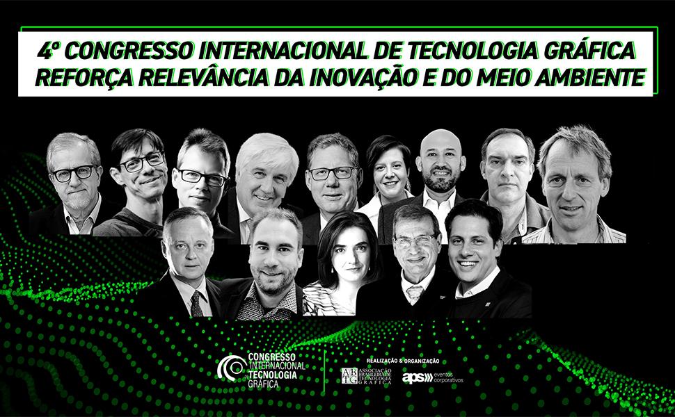 4º Congresso Internacional de Tecnologia Gráfica reforça relevância da inovação e do meio ambiente